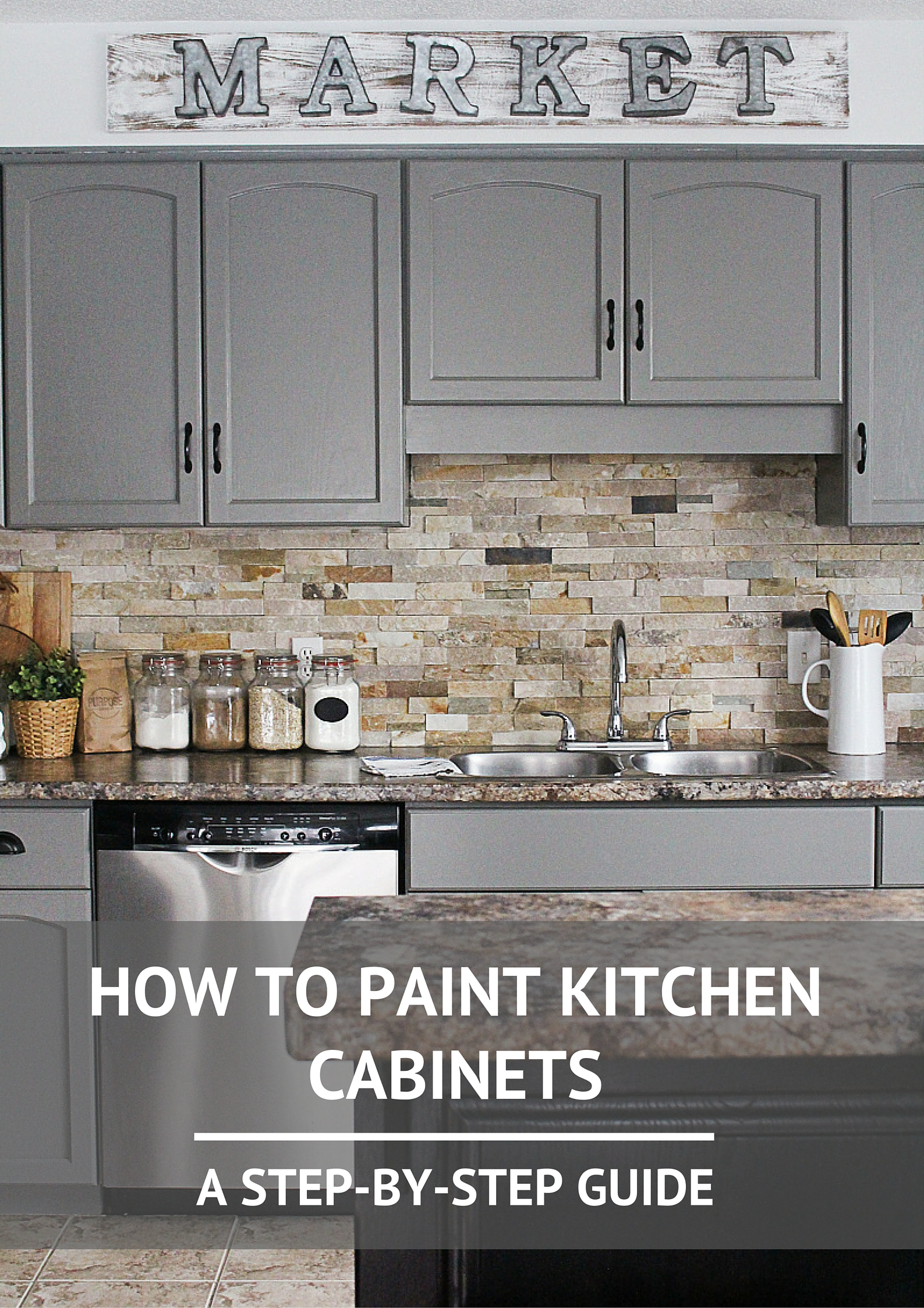 The Definitive Guide for How To Prep And Paint Kitchen Cabinets