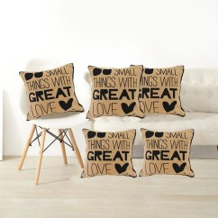 Chair Pad Covers Online India Game Amazon Small Thing With Great Love Jute Cushion More Fashion Shopping Store In