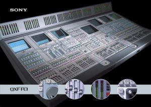 Sony Oxford OXF-R3 Digital Console