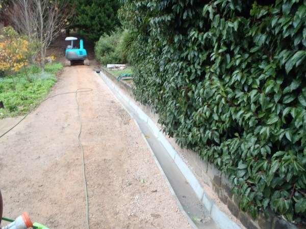site works & landscaping - little