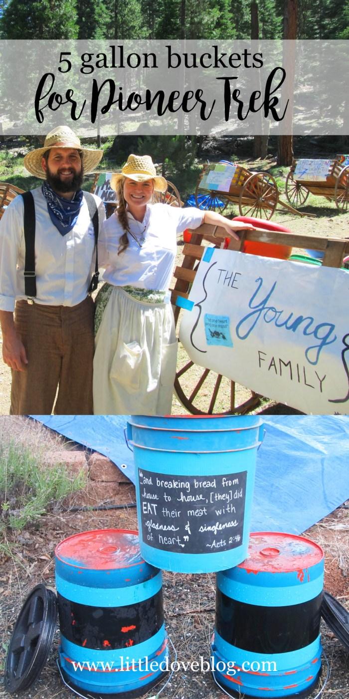 Pioneer Trek Five Gallon Buckets Little Dove Blog