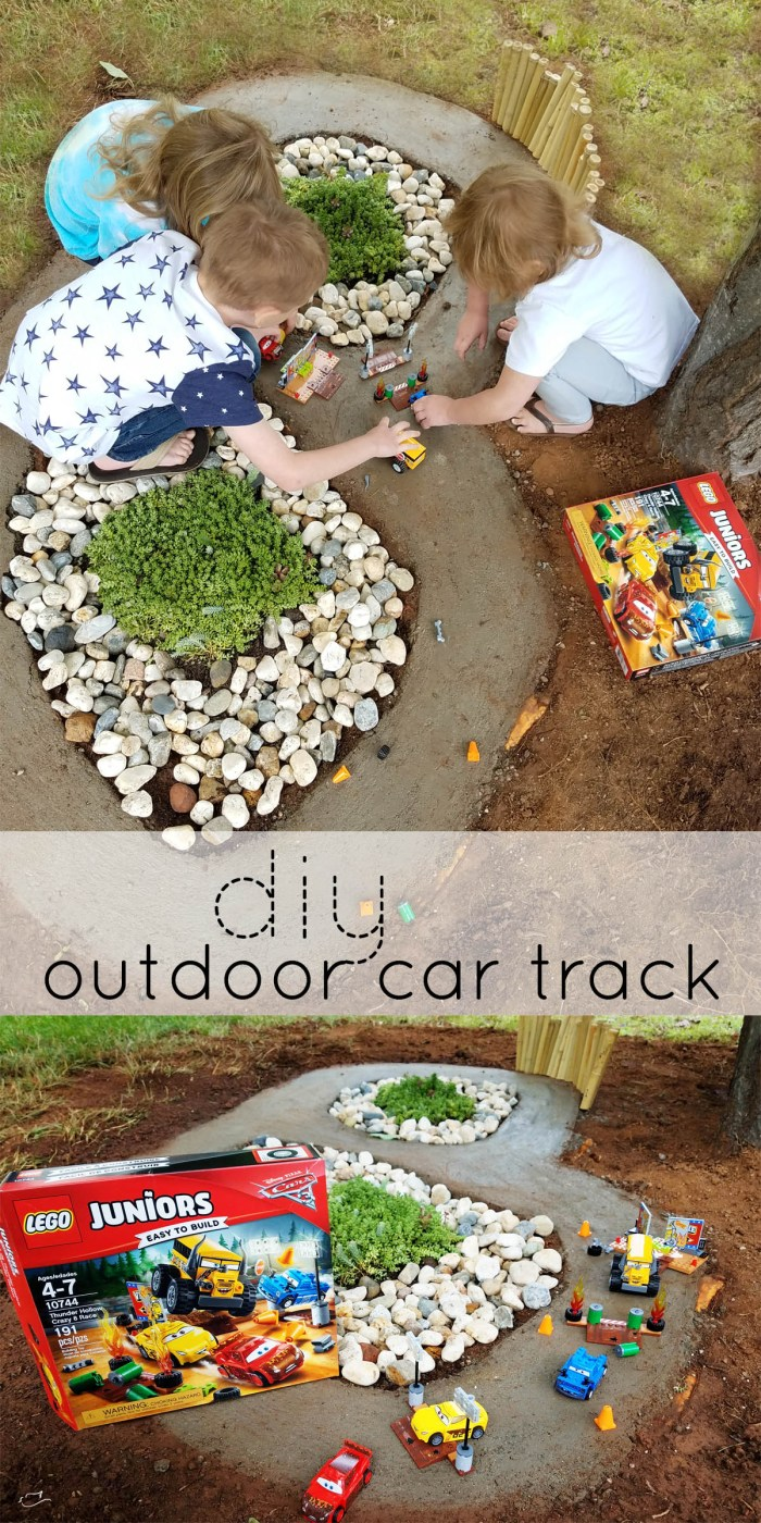 Amazon Cars, diy, outdoor car track