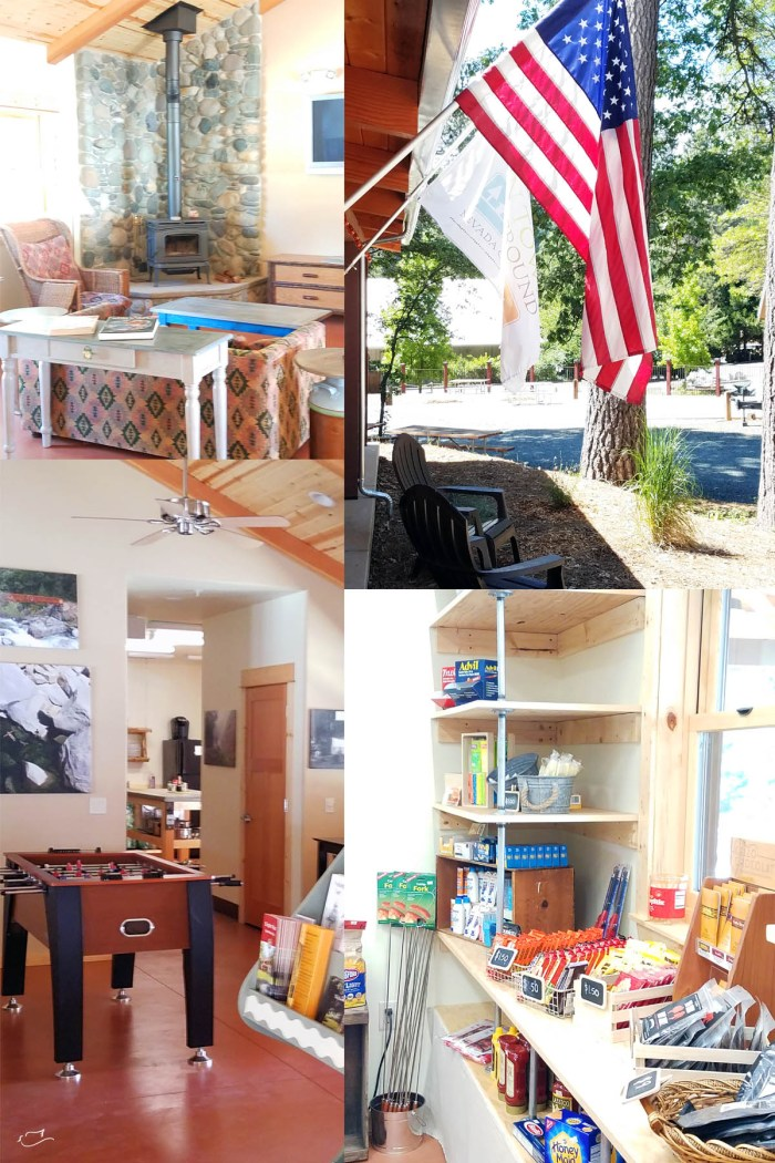 Glamping staycation, Inn Town Campground, Nevada City, California