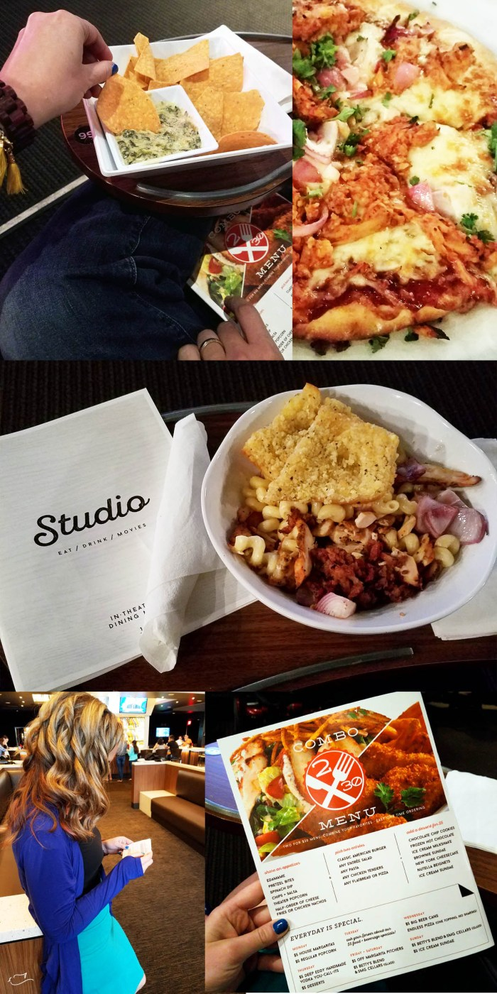 Our review of Studio Movie Grill #ReviveDateNight