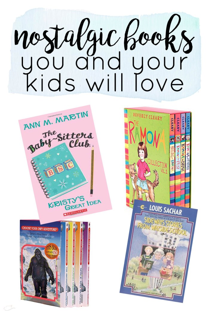 nostalgic books you and your kids will love