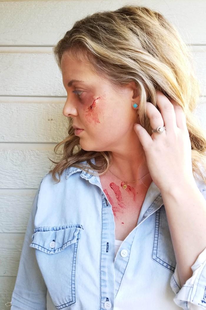 Halloween undead makeup tutorial