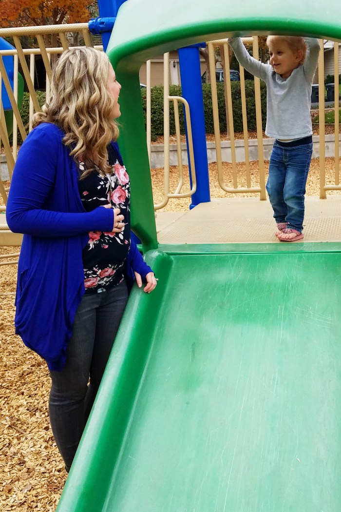 Maternity update with PinkBlush, third trimester, park day