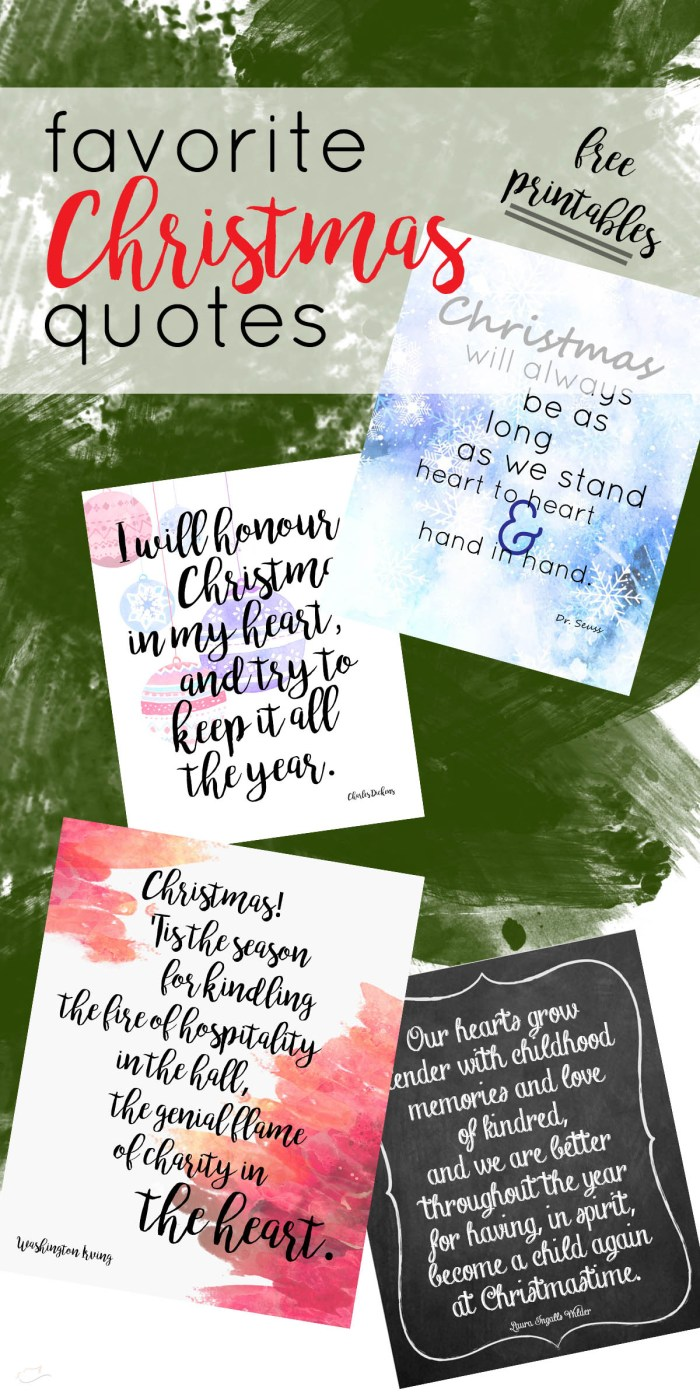 Favorite literary Christmas quotes