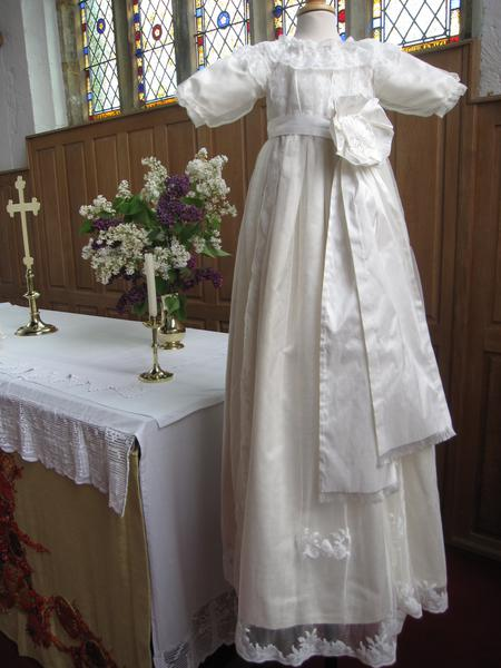 Royal Christening Gown Or Baptism Outfit In Victorian Style