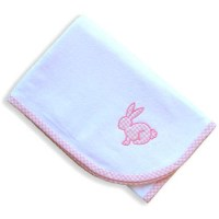 Baby Blankets - Pink Gingham Baby Blanket