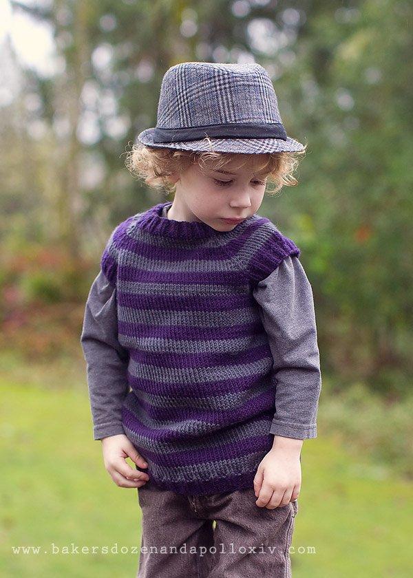 striped toddler t-shirt vest
