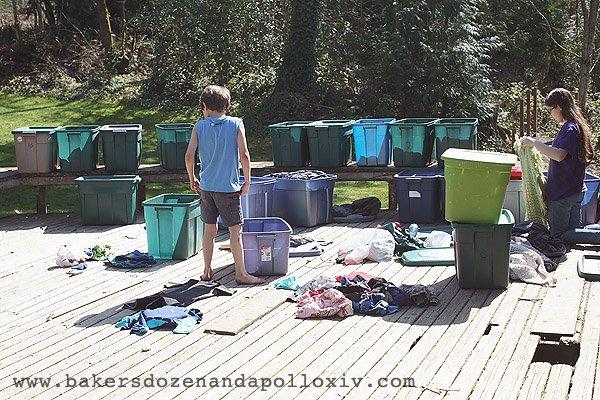managing kid's clothes