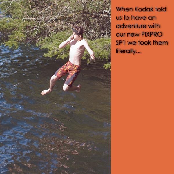 PIXPRO review, pixpro sp1 review, is kodak pixpro sp1 waterproof, waterproof camera, waterproof video camera