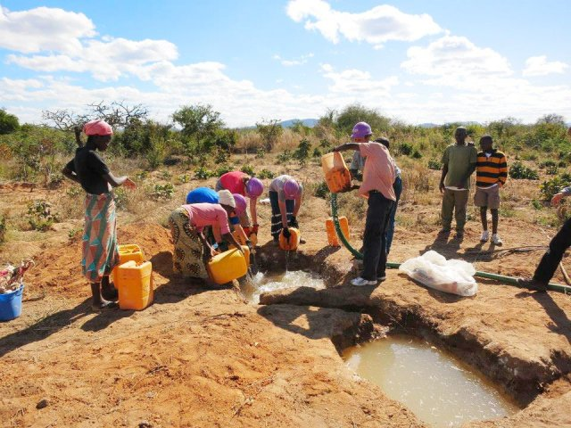 well-drilling in malawi