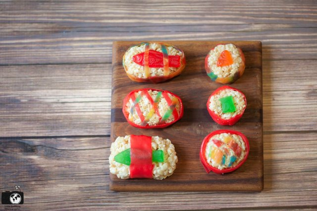 How to make candy sushi
