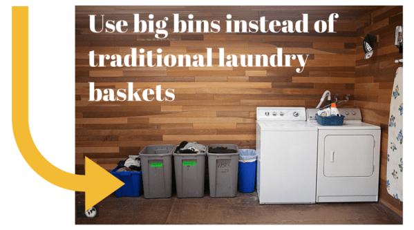 Use big bins instead of traditional