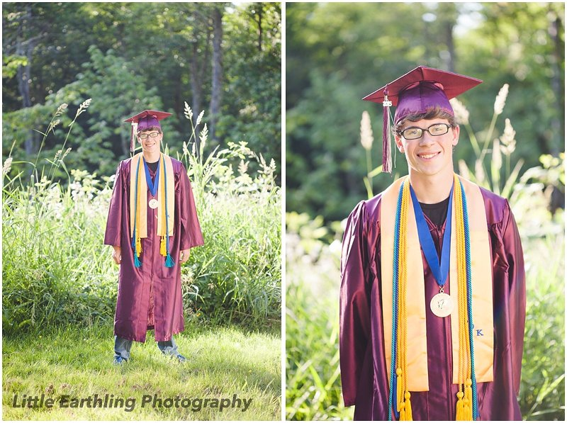Graduated at age 17 with a high school diploma and AA degree.