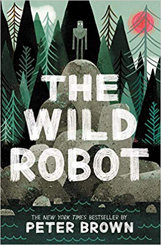 The Wild Robot by Peter Brown is a quick and easy read for kids.
