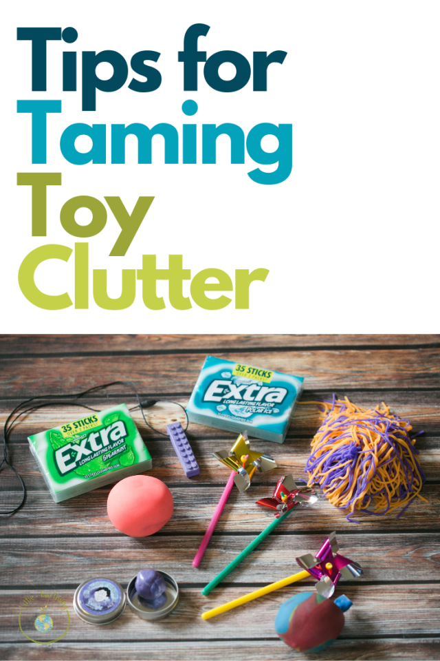 Tips for decluttering toys to keep you and  your kids happy!