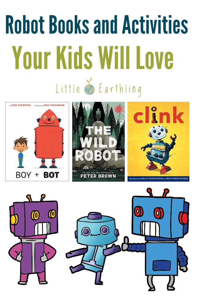 Robot Books and Activities Your Kids Will Love