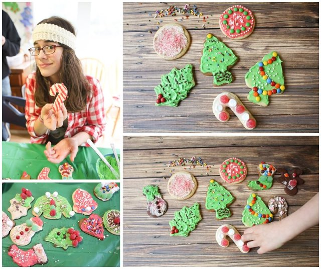 Cookie decorating in a large family