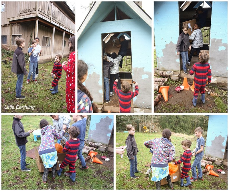 A fun scavenger hunt that leads to the LEGO lion temple!