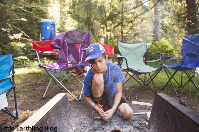 Family camping in the Pacific Northwest is always an adventure. Especially when it's my family.