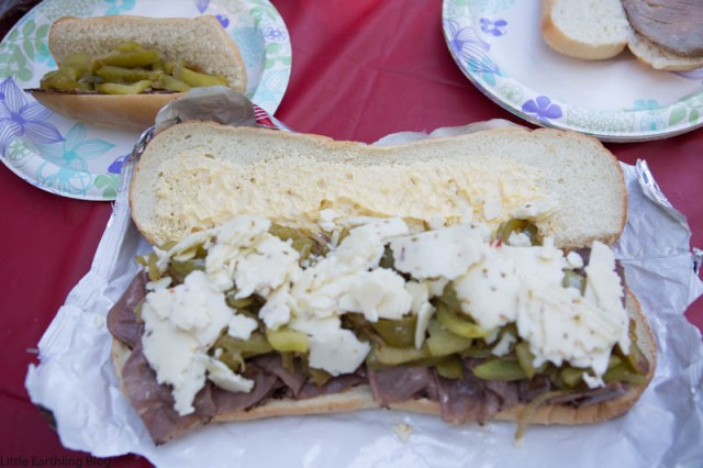 These campfire cheese steaks make and amazing addition to any camping menu.