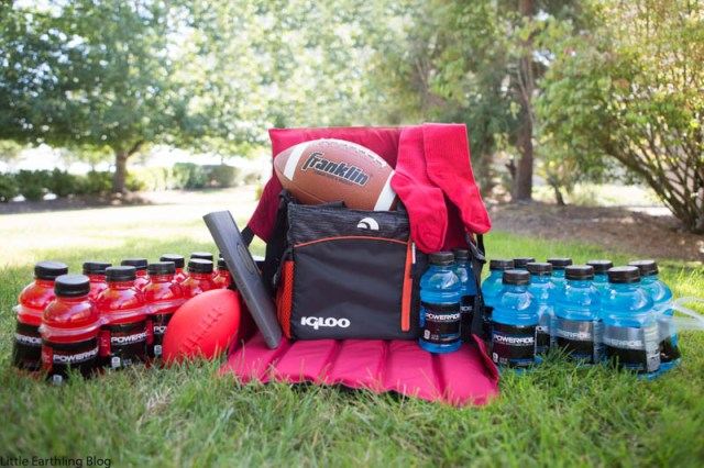 Pack a Football Mom Survival Kit for you or a friend.