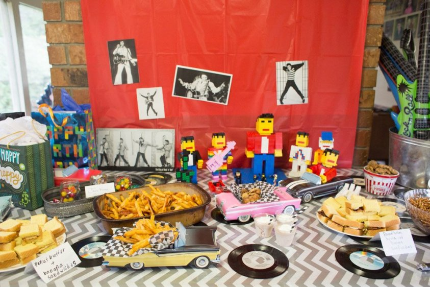 Food, games and ideas for a rocking Elvis party!