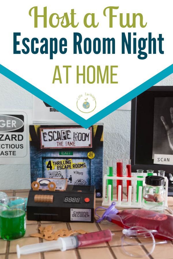 Host a fun Escape Room Night at home.