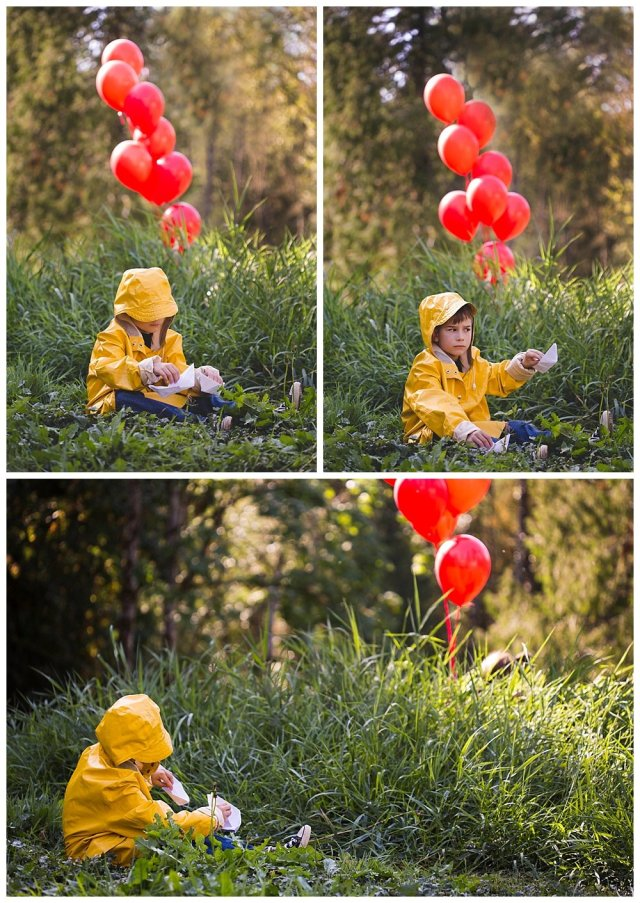 It themed photo shoot by bellingham photographer, Renee Bergeron. Thanks for the inspiration, Stephen King!