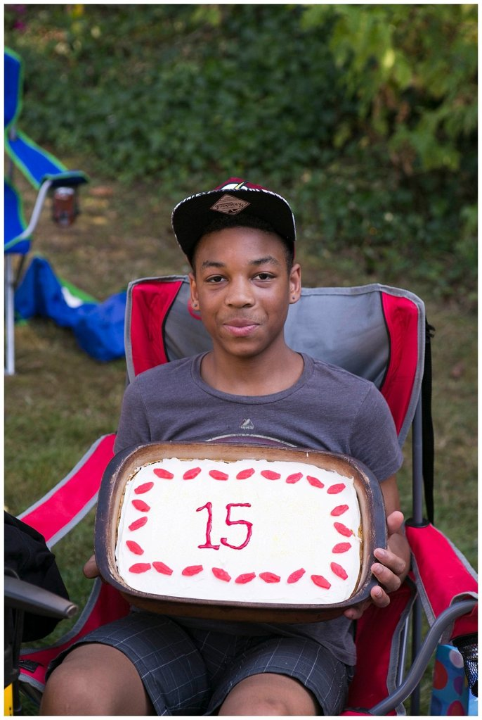 Mordecai's 15th birthday was a blast. Large Family Life.