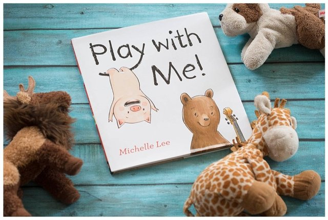 Play with me is an endearing book about friendship and compromise.