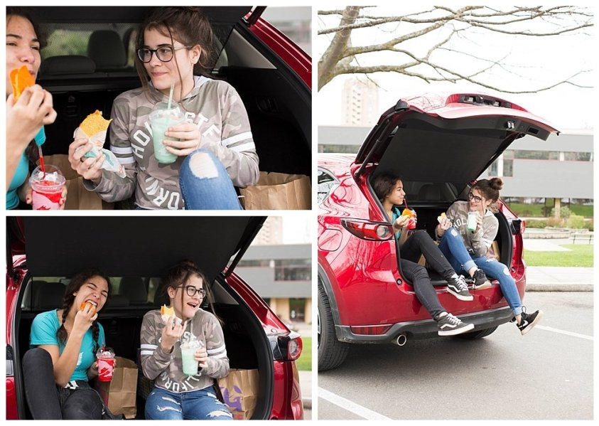 Tacos and tailgating at the library make for a great mini-adventure.