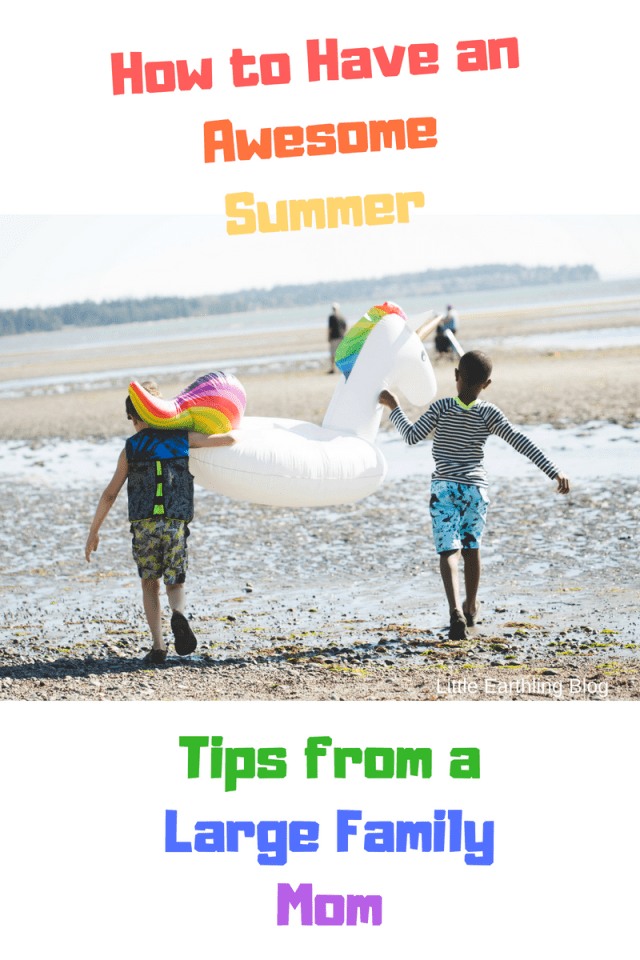 Large Family Tips: How to Have an Awesome Summer