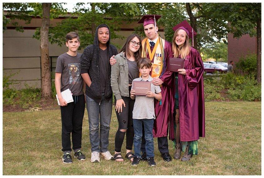 Enoch WCC graduation.