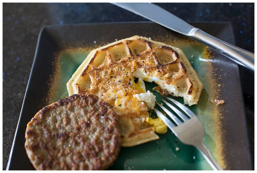 Sunshine Waffles are wholesome and filling.