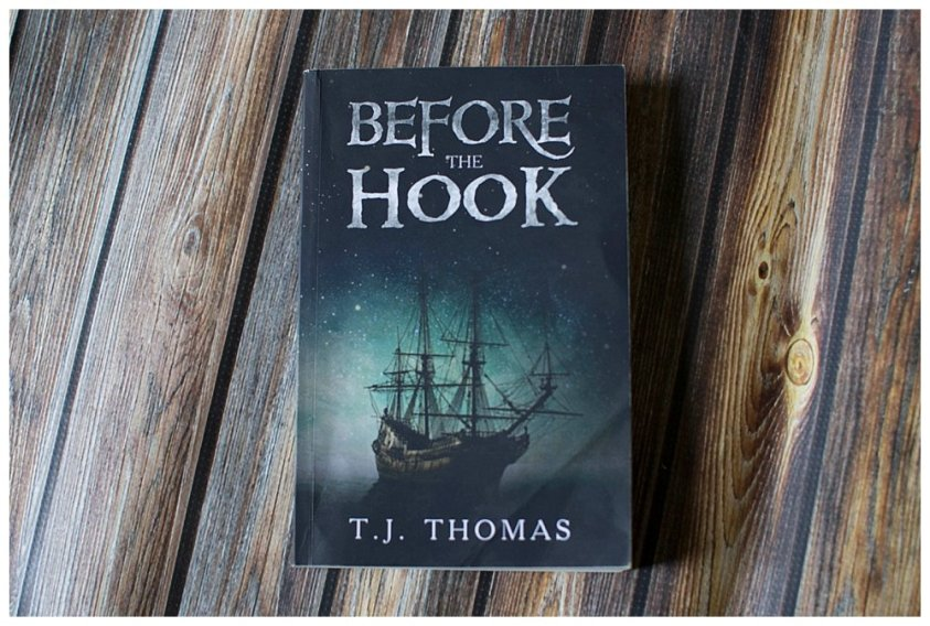 Before the hook is a brilliant book by first time author TJ Thomas.