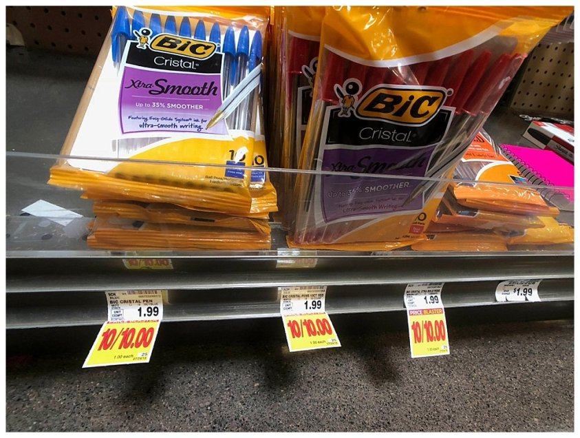 Back to school shopping at Fred Meyer means one stop shopping.