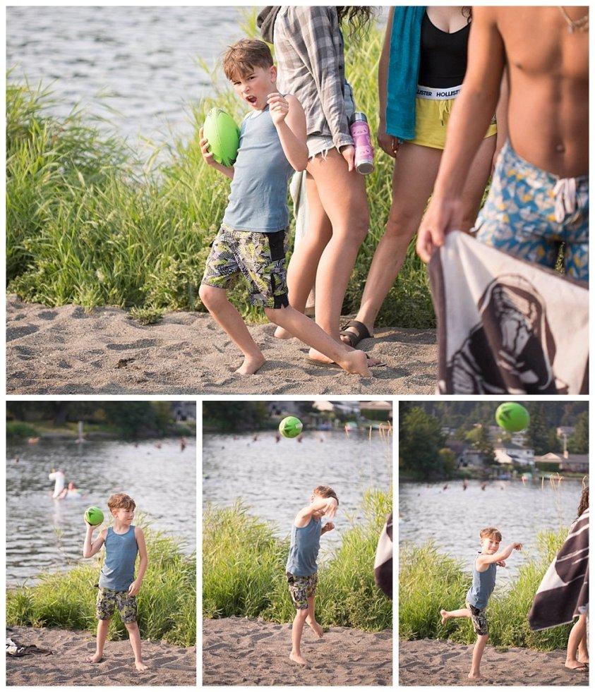 Apollo at the lake.