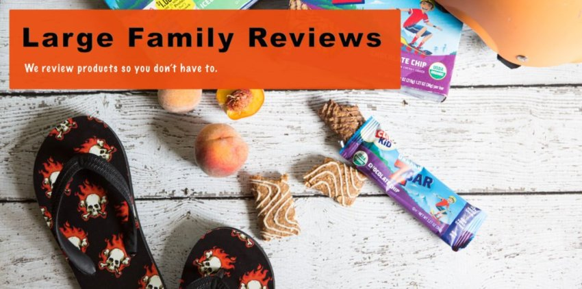 Large Family Reviews: we review products so you don't have to.