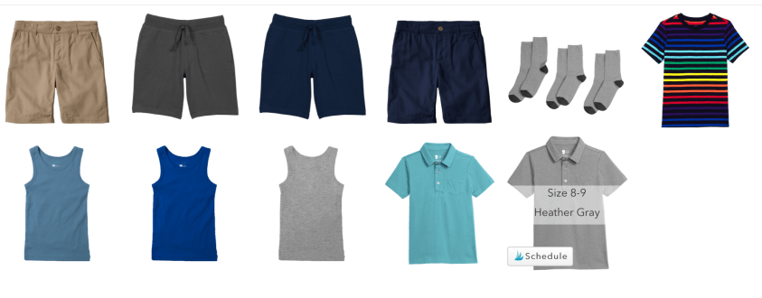 Primary clothing makes capsule wardrobes for kids a breeze.