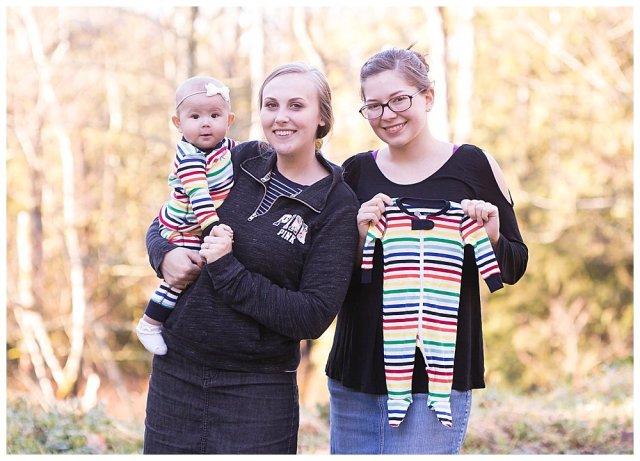 Cousins maternity photos. Bellingham photographer.