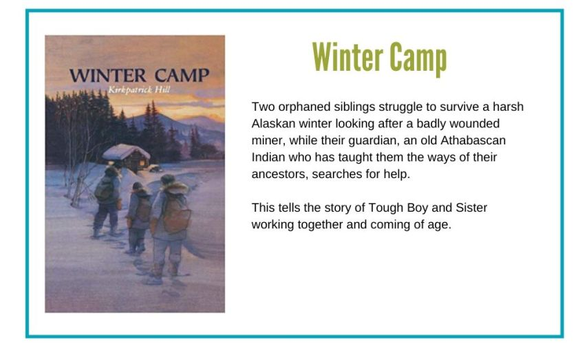 Tough Boy and Sister come of age as they survive an Alaskan winter alone.