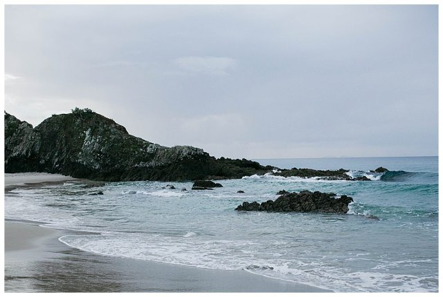 Waves on Ocean Beach Whangarei.