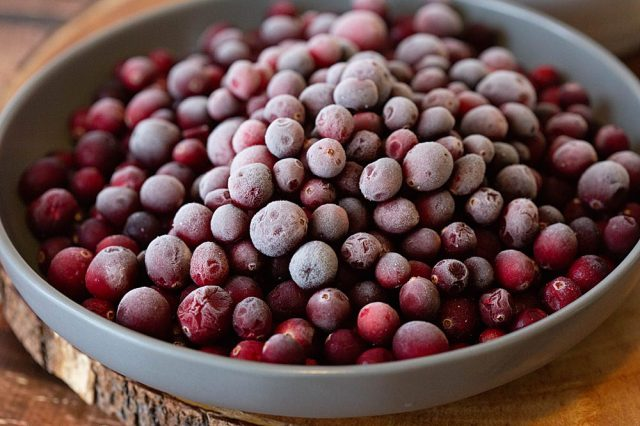 Start with fresh or frozen cranberries for this Instant Pot cranberry sauce recipe.