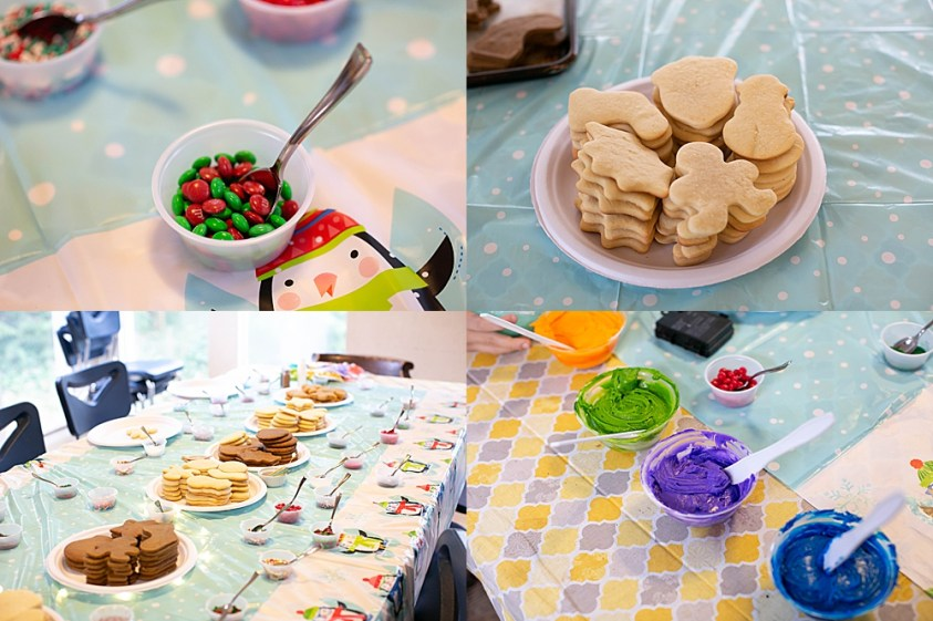 Planning and prep ahead of time means you can sit back and enjoy your cookie decorating party.