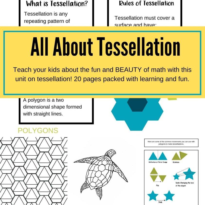 All About Tessellation Unit Study