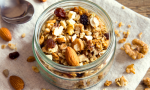 Easy granola recipe perfect for large families and kid-friendly.